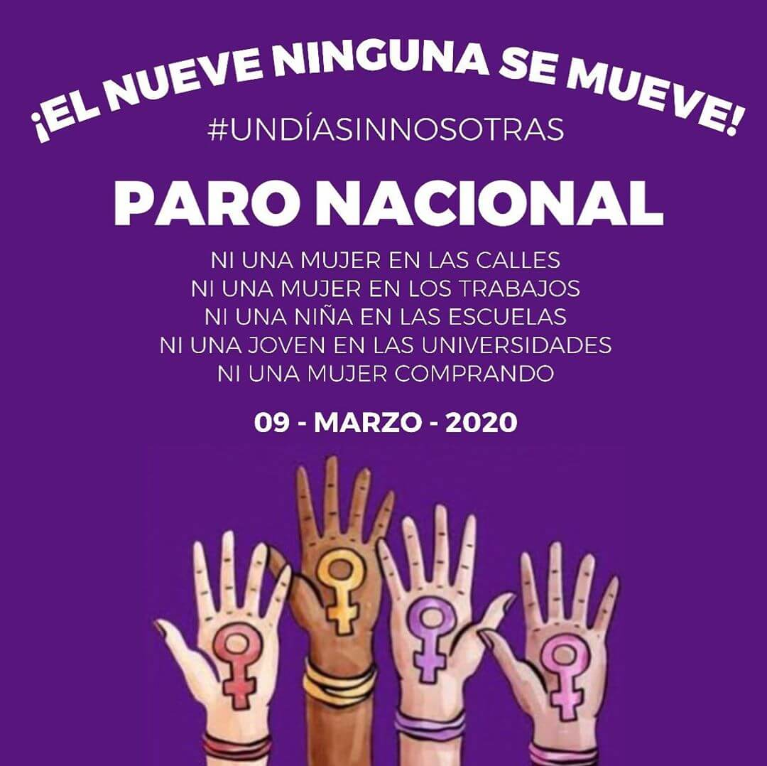 Paro Nacional 9M en México