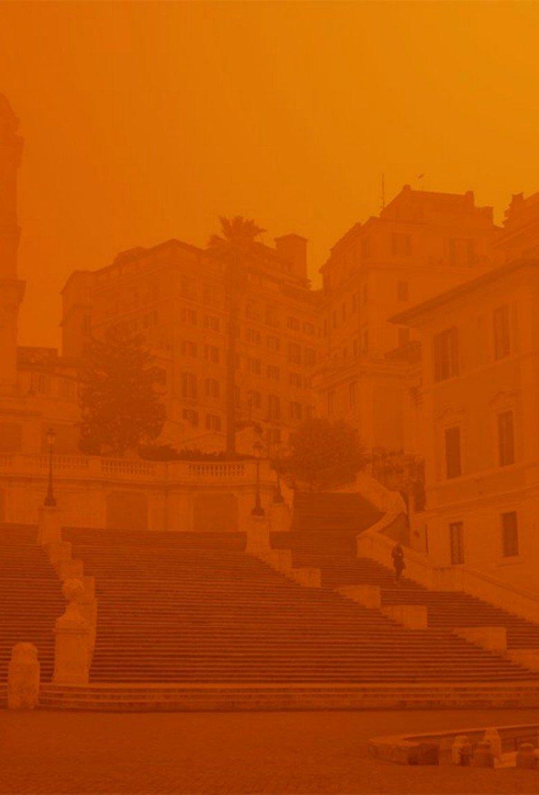 Virus Corome: la soledad de Roma en la pademia