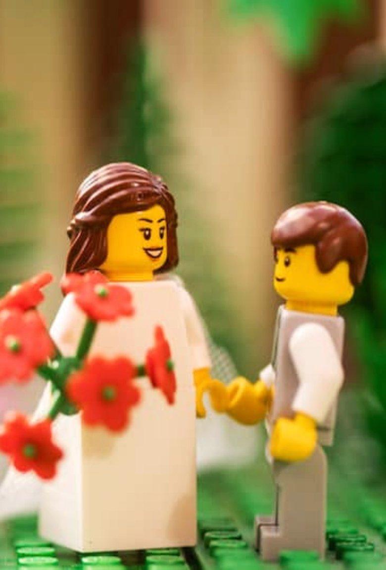 Bodas LEGO en la lente del fotógrafo Chris Wallace