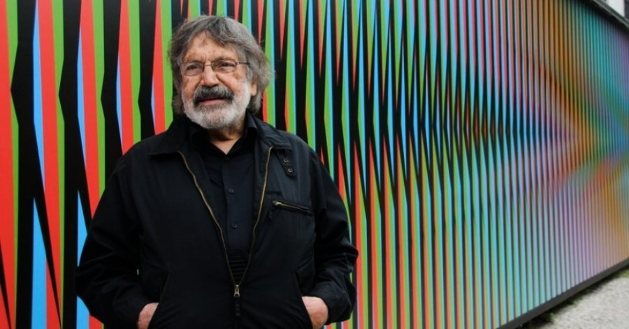 Photograph of Carlos Cruz-Diez