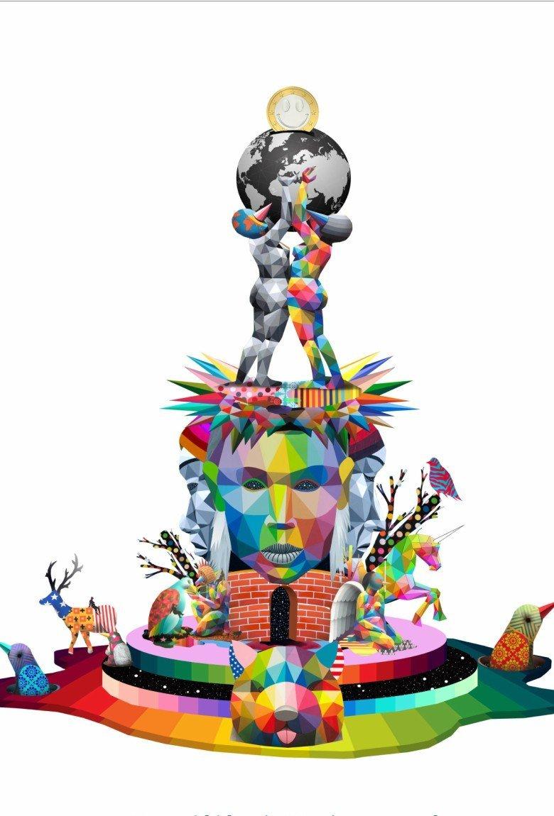 Okuda crea Colouring the World, proyecto para colorear España
