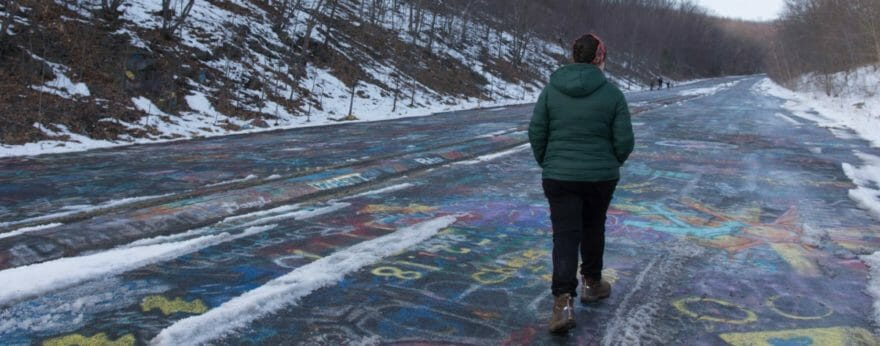 Graffiti Highway, farewell to Centralia's graffiti