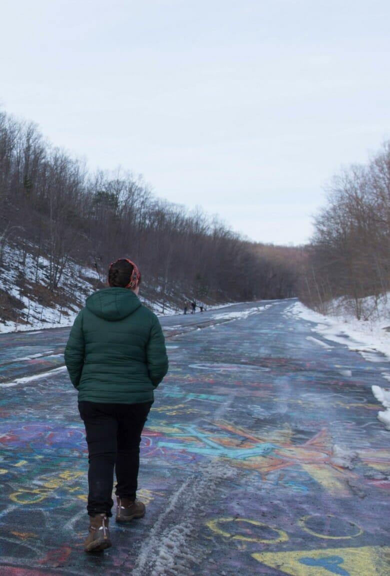 Graffiti Highway, el graffiti de Centralia dice adiós