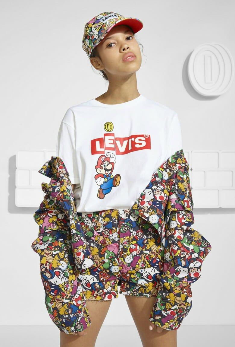 Levi's y Super Mario lanzan colaboración