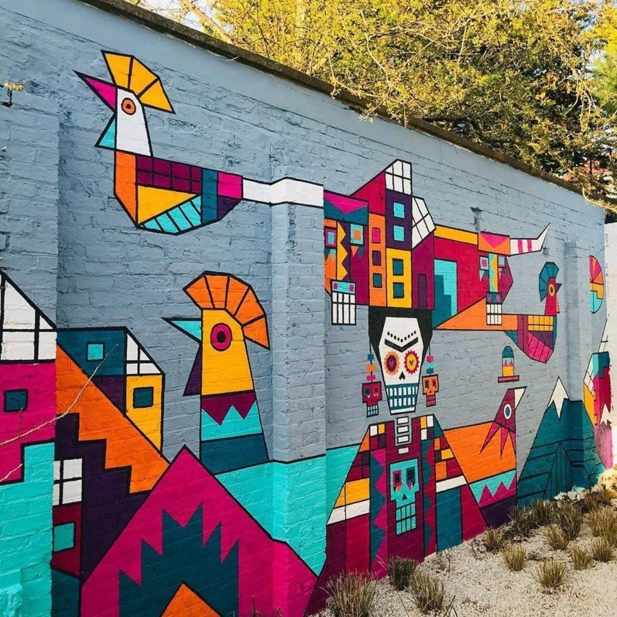 The top murals of the month of April according to ACC