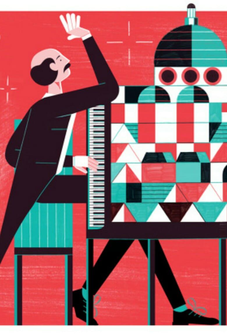 Michael Driver, ilustración con minimalismo complejo