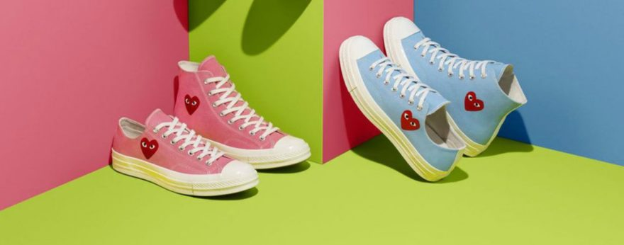 Converse launches colorful collection with COMME des GARÇONS