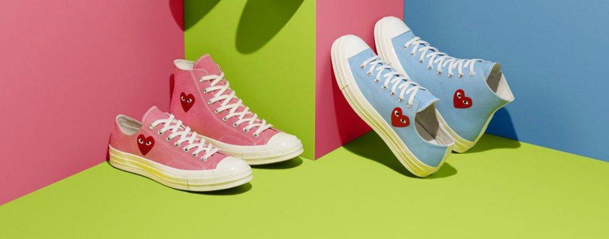 Converse launches colorful collection with COMME des GARÇONS