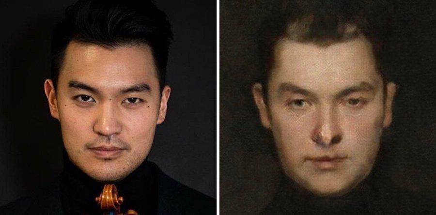 Programa de IA convierte selfies en retratos renacentistas