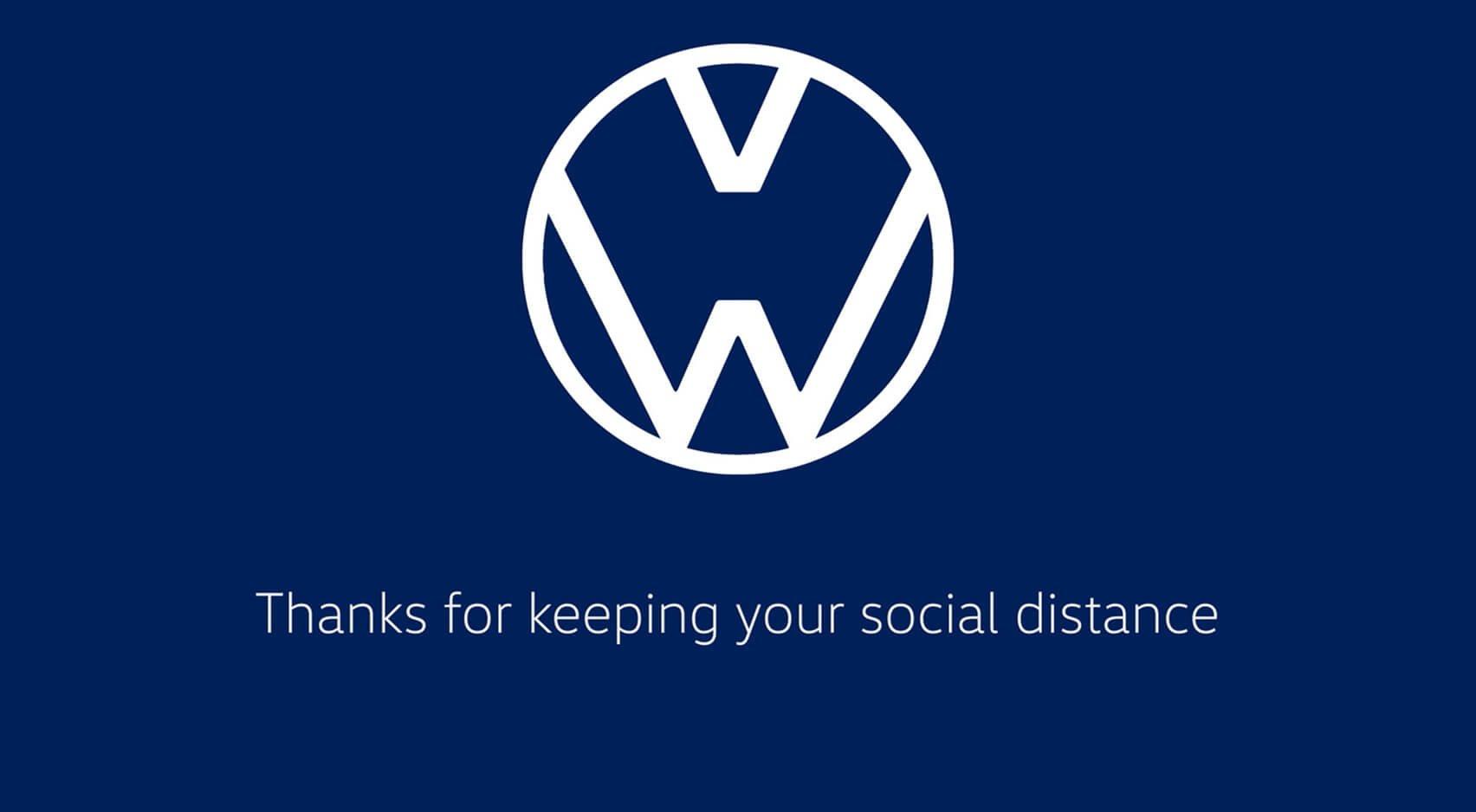 Volkswagen promueve la distancia social ante coronavirus