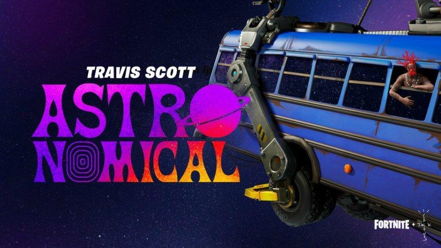 Travis Scott y Fortnite