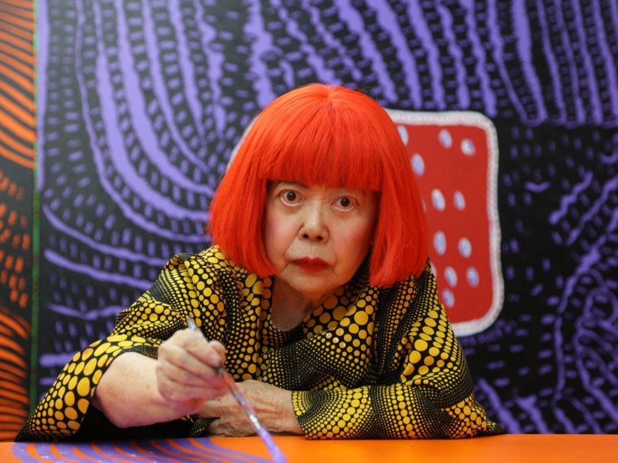Yayoi Kusama revealed poem about health emergency