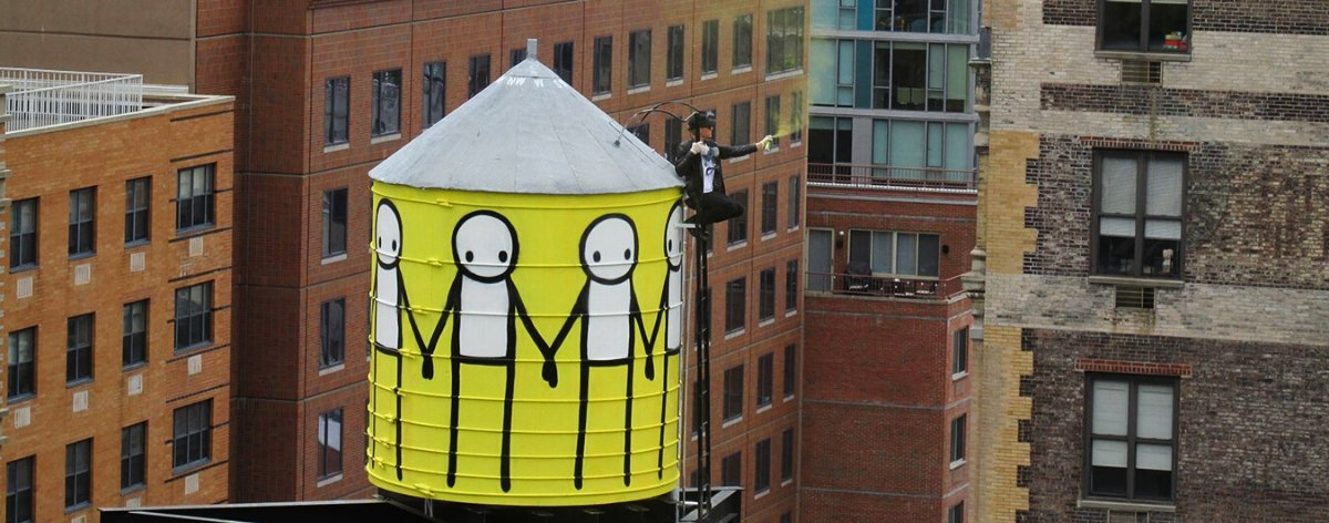 Stik: simple figures, complex messages