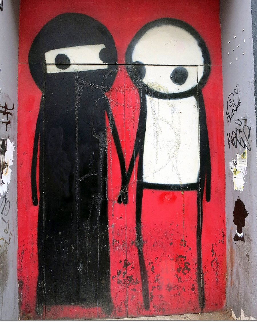 Stik's piece on London's Princelet Street