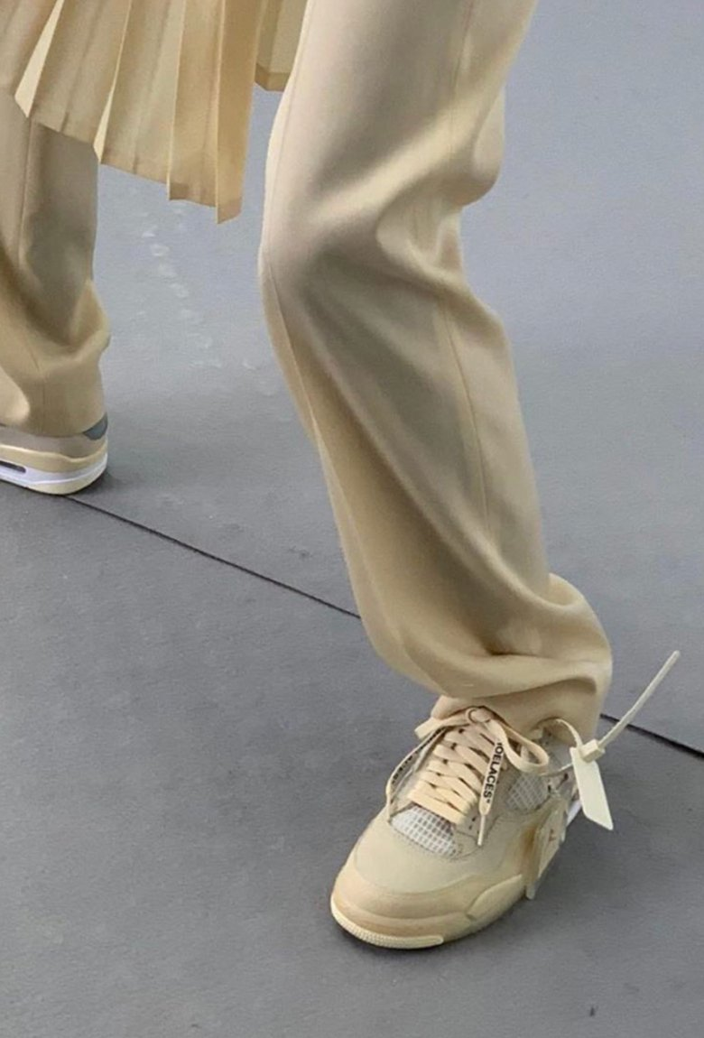 Air Jordan 4 Sail, the new Off-white sneaker collab
