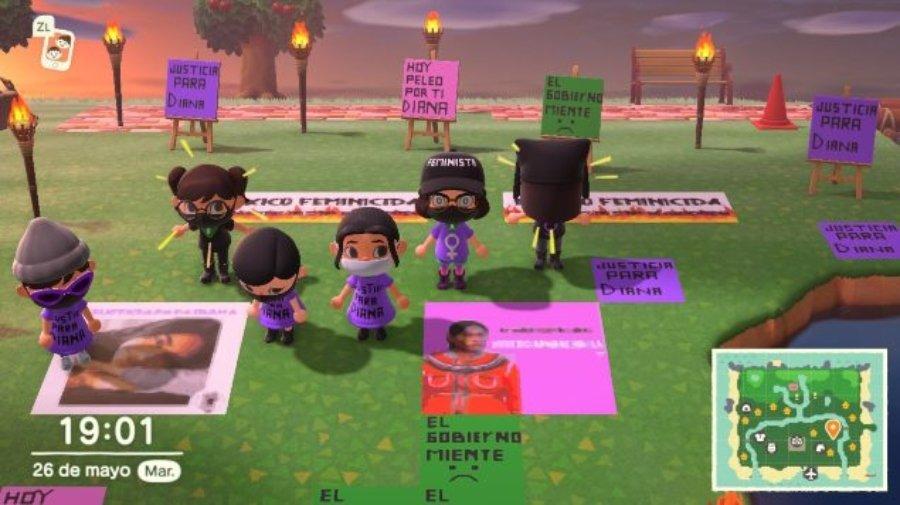 Mujeres deciden lanzar su protesta a través del videojuego