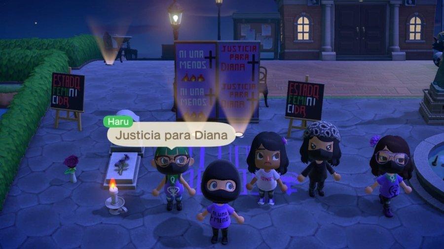Animal Crossing funge como plataforma para protesta
