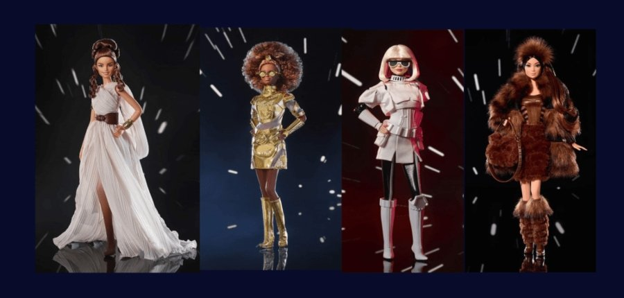 Muñecas encarnan a los personajes más icónicos