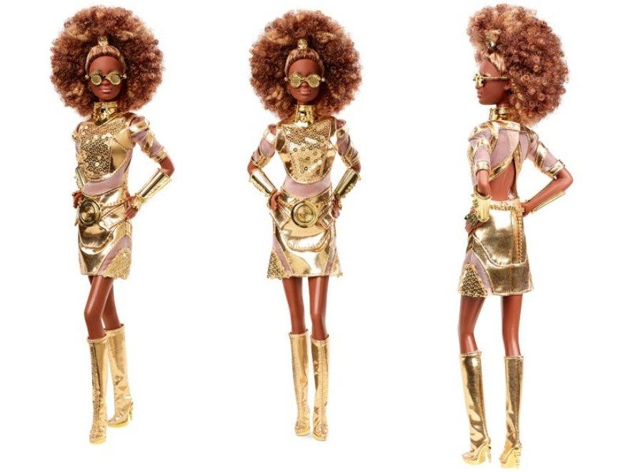 Barbie x Star Wars segunda edición especial