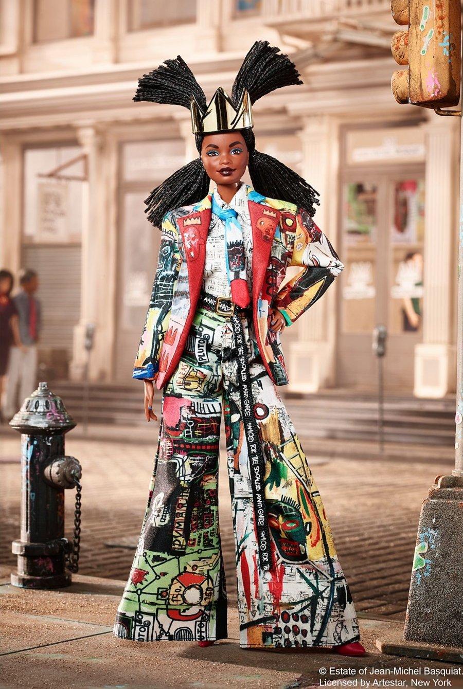 Basquiat x Barbie en una colaboración muy chic