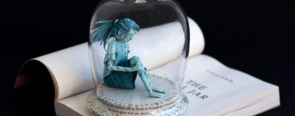 Bethany Bickley y sus pequeños mundos de papel