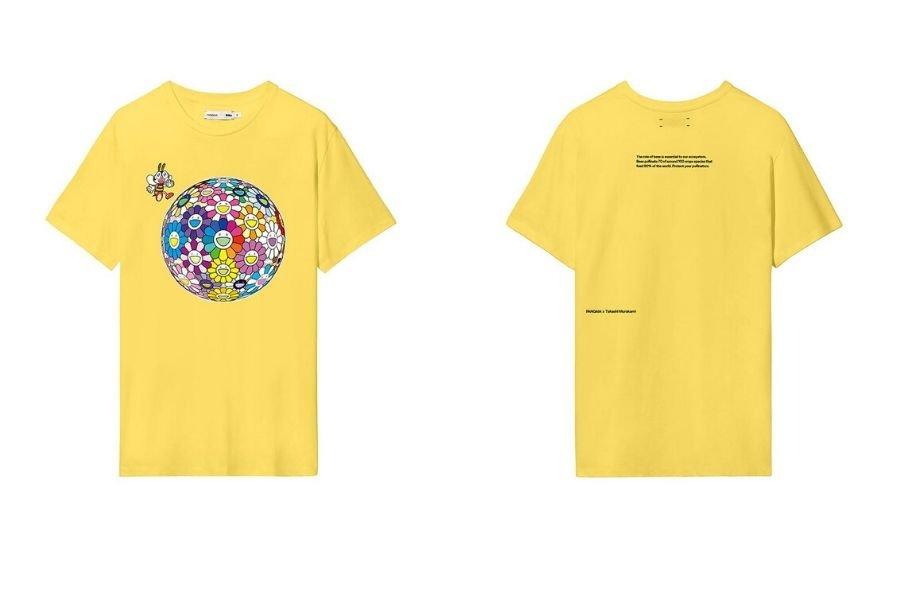 Colección de Murakami que rinde homenaje a la abeja