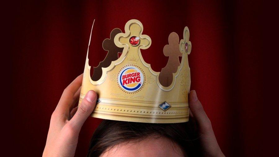 Corona clásica de Burger King