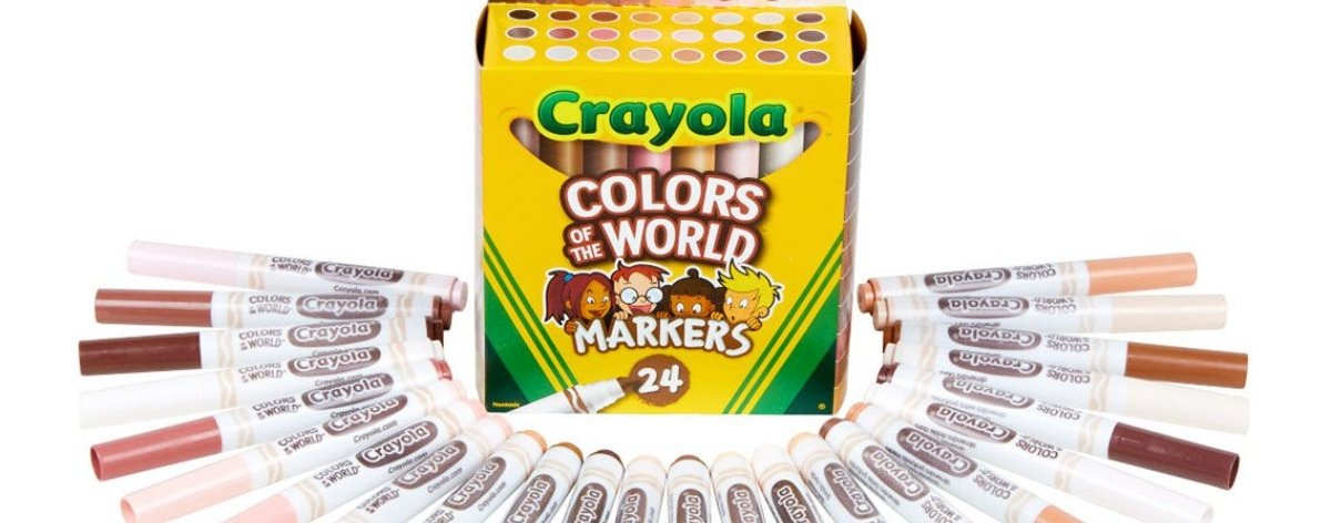 Crayola tiene nuevos lanzamientos de «Colors of the world»