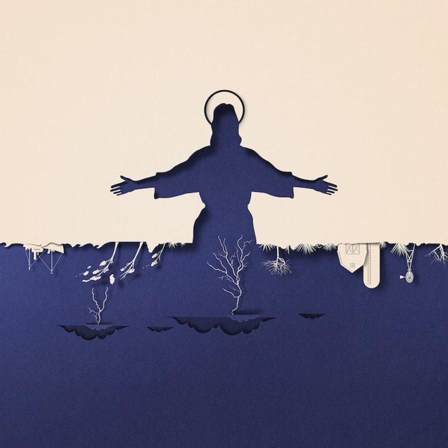 la artista ilustra el cambio climático
