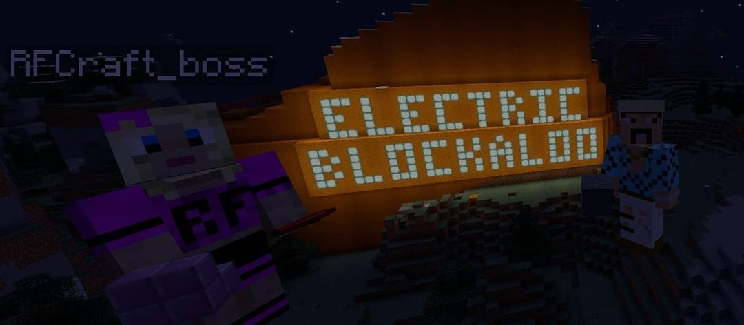 Electric Blockaloo, un festival de electro en Minecraft