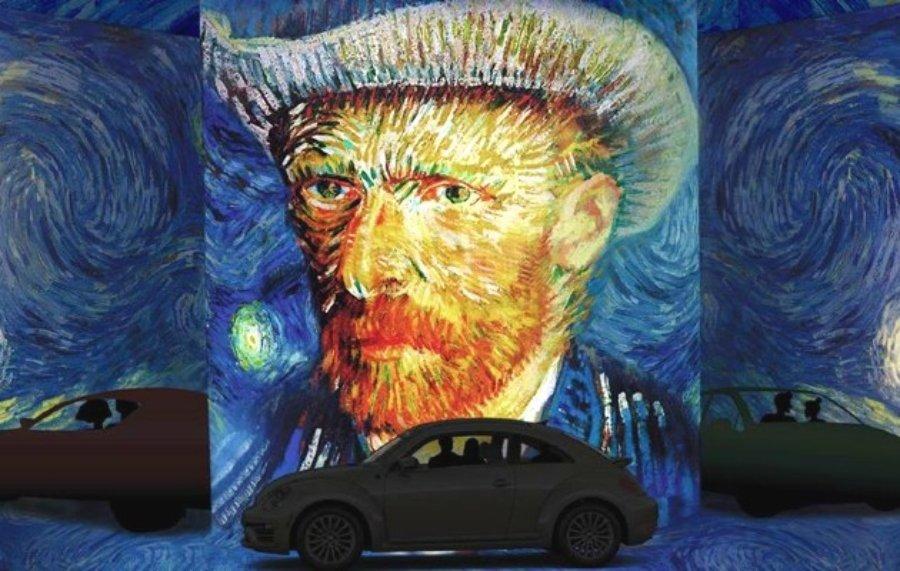 Exposición de Van Gogh desde la comodidad de tu carro