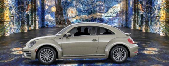 Inmersive Van Gogh desde la comodidad del auto