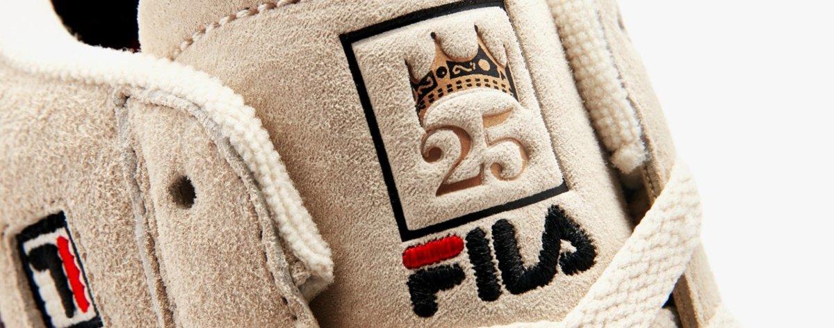 FILA x Biggie pay tribute to nineties streetwear