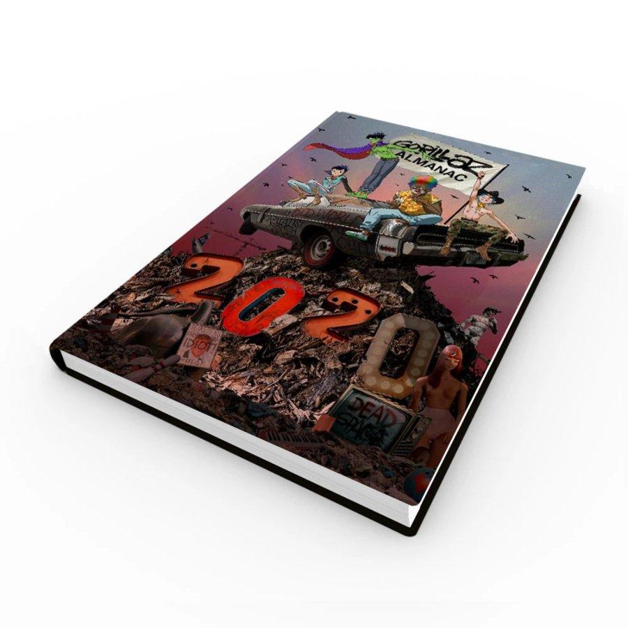 Cover of Gorillaz Almanac, Gorillaz's comic