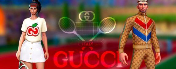Gucci y Tennis Clash lanzan colaboración digital