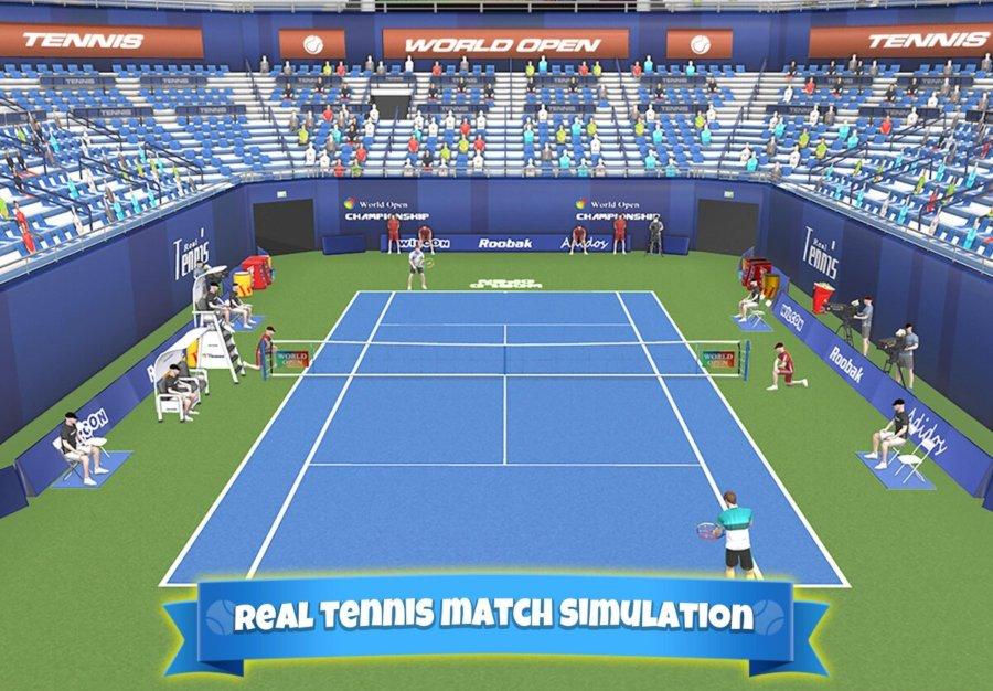 Estadio en Tennis clash