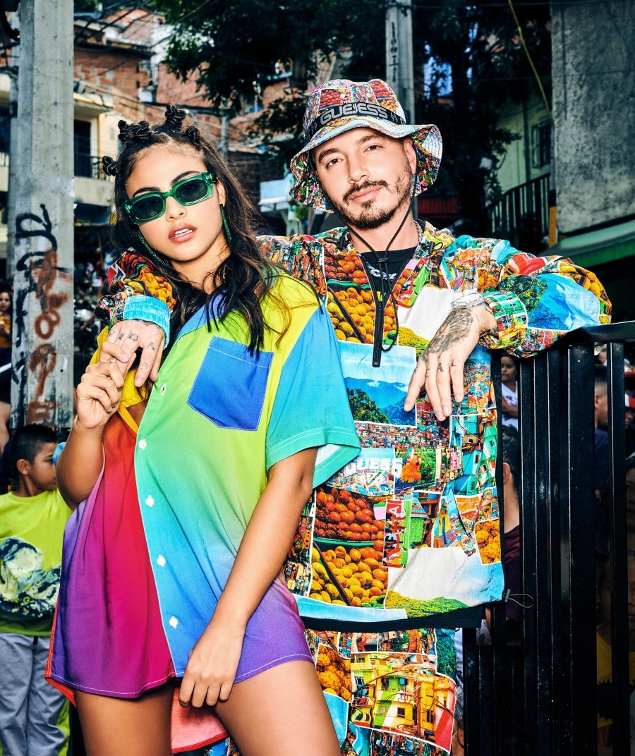 "Guess and J Balvin ""Colores"" Collection"