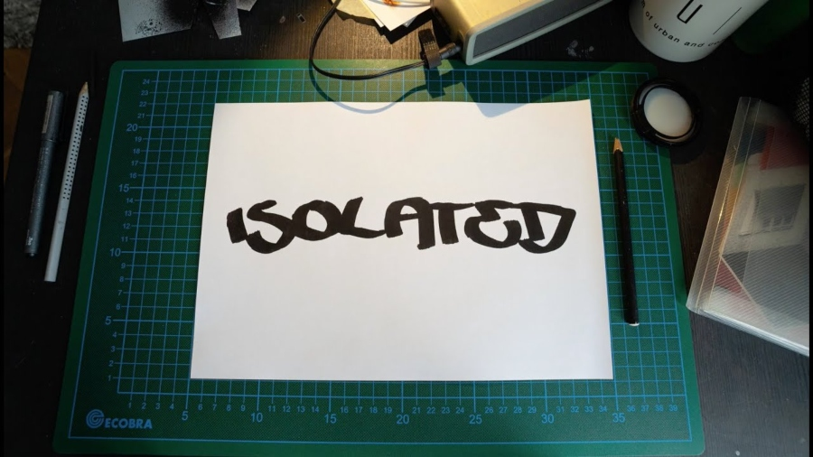 Isolated, the film that showcases the creative spaces of artists