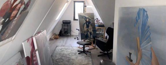 Isolated, filme que muestra los estudios de 37 artistas