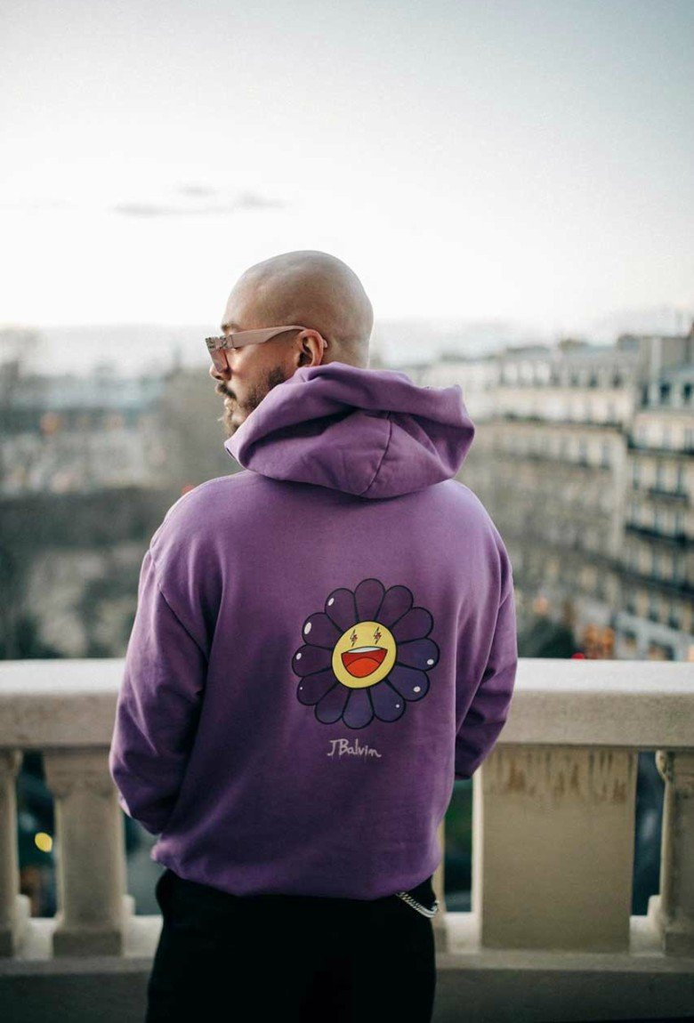 "J Balvin and Takashi Murakami release merch for ""Colores"""