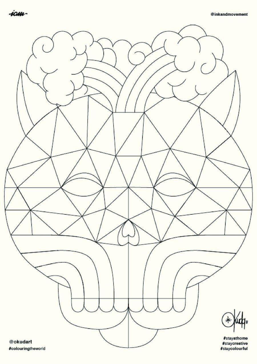 Okuda presentó en su inciativa Coloring the Wold este libro