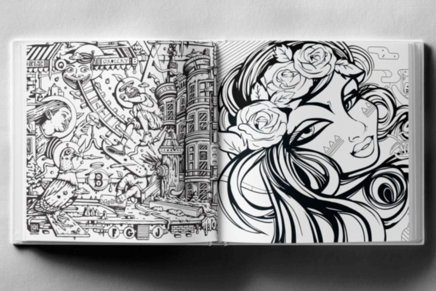 el libro recopila obras de veteranos del graffiti