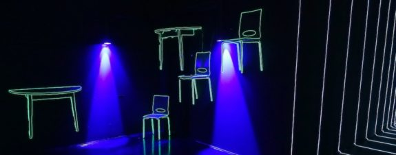 Marina Zumi presenta instalación de luz en Upeart Fest