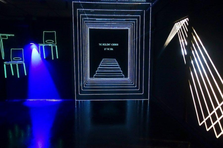 """Marina Zumi presentó su instalación """"Swim Dreams"""""""