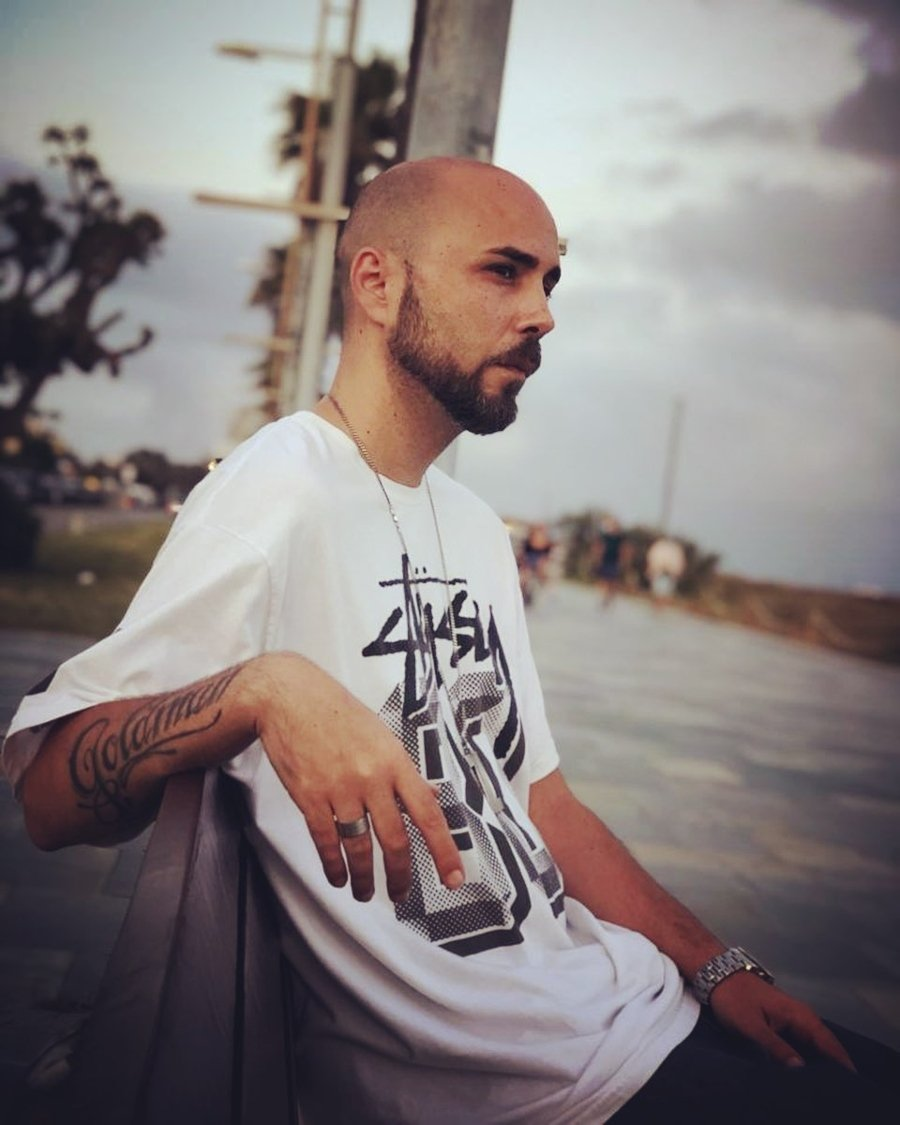 Retrato del rapero español ZPU