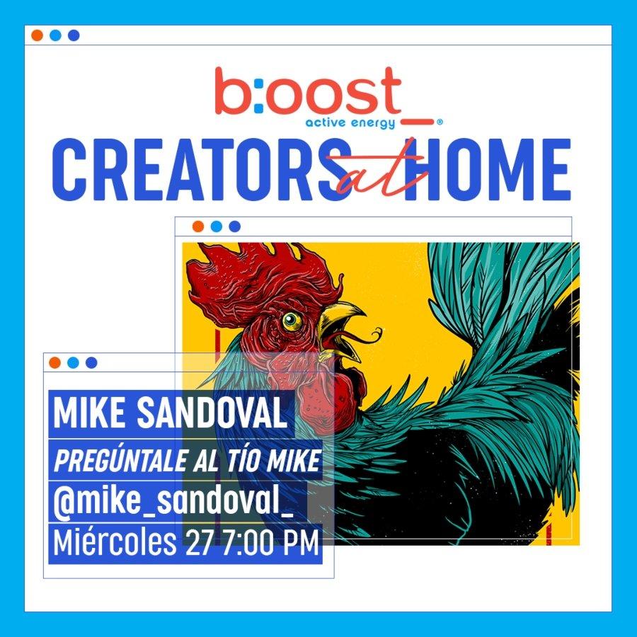 Mike Sandoval en vivo en #CreatorsAtHome