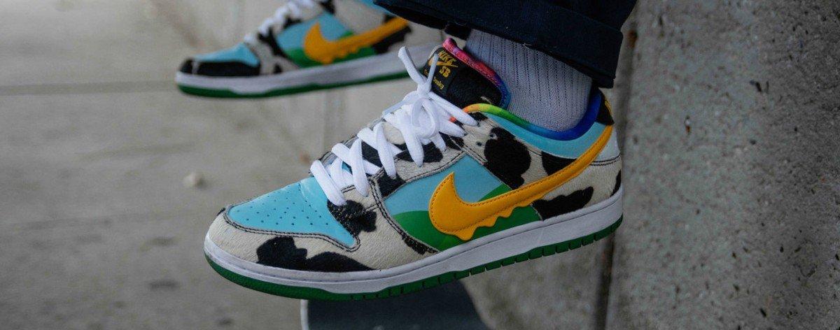 Nike SB y Ben & Jerry's lanzan colaboración de sneakers
