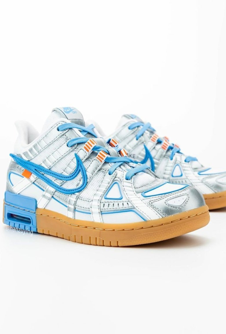 Off White and Nike Air present The Rubber Dunk