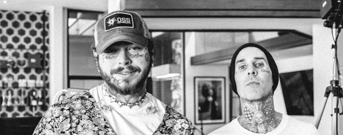 Post Malone y Travis Barker podrían trabajar en colaboración