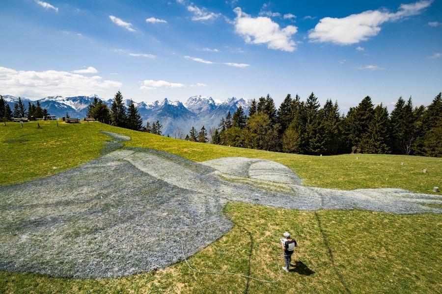 SAYPE llega a Suiza con nueva obra de street art